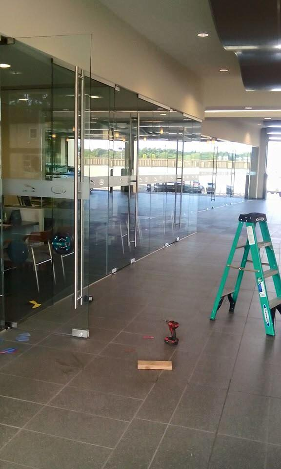 Commercial Glass Partitions | Custom Glass & Mirror | Metro