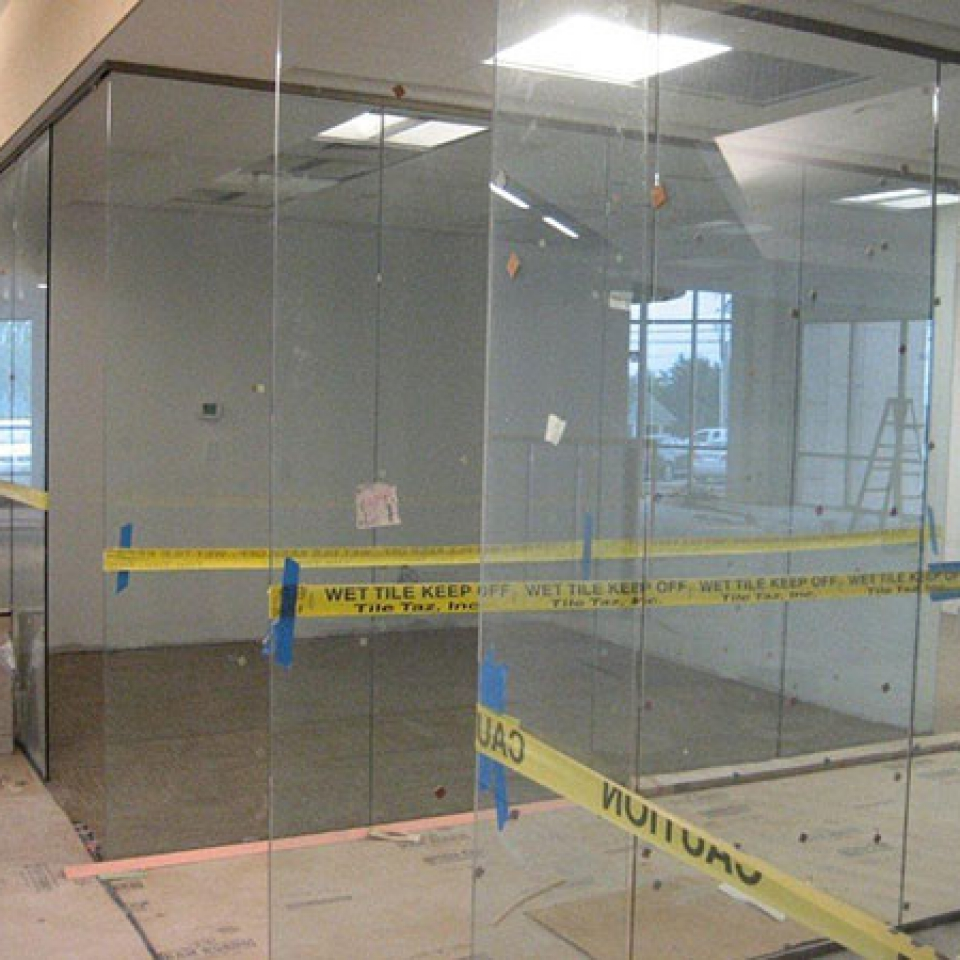 Commercial Glass Partitions Near Atlanta, Roswell and Sandy Springs, Georgia