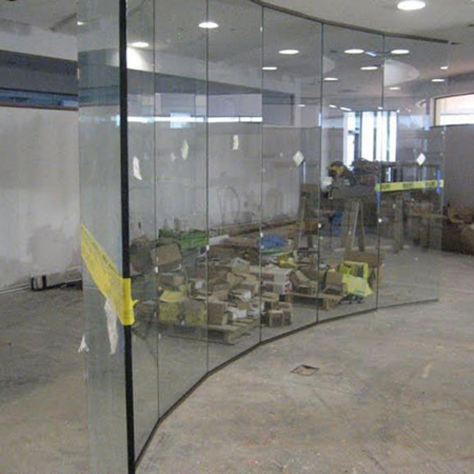 Custom Glass Walls For A Conference Room Near Atlanta, Roswell and Sandy Springs, Georgia
