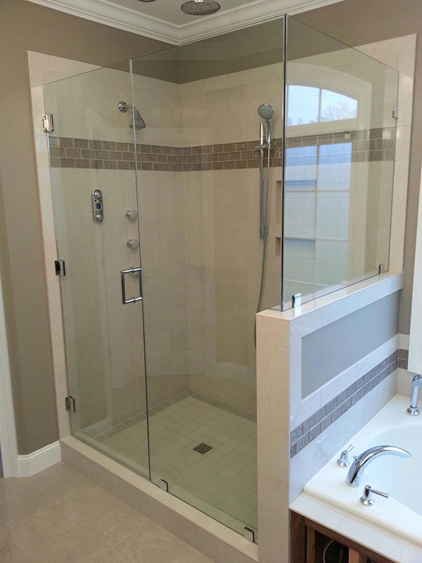 Custom Frameless Glass Shower Doors | Mount Mercy University