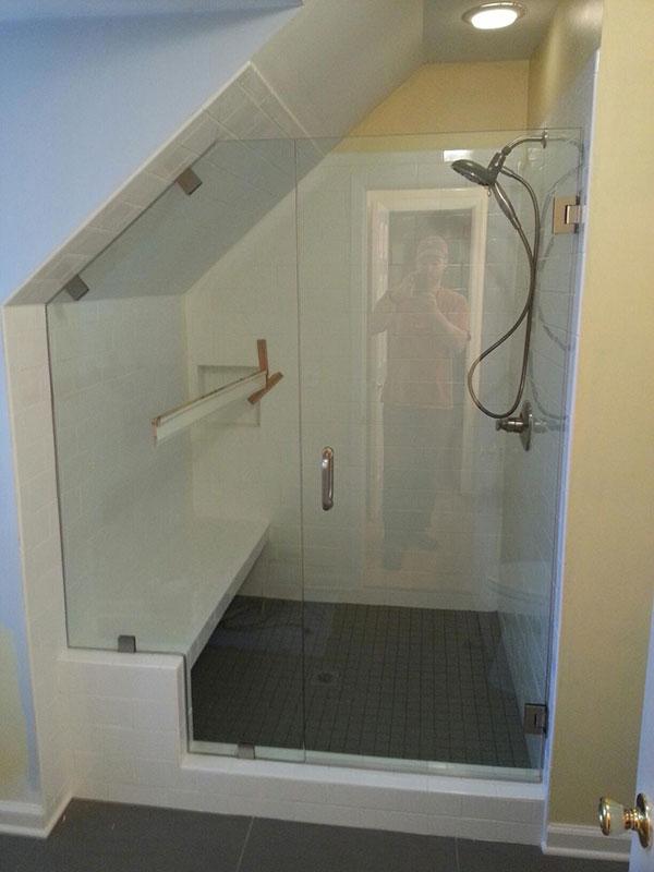 Frameless Glass Shower Installation Near Atlanta, Roswell and Sandy Springs
