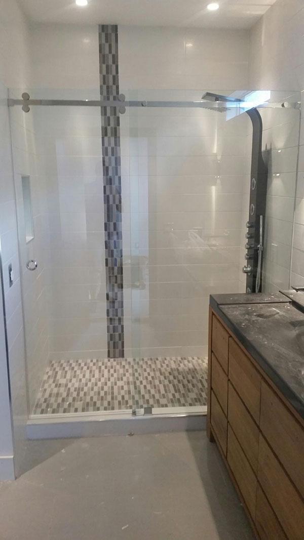 Frameless Glass Shower Installation in Metro Atlanta