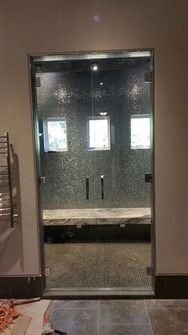 Our services include bathroom installations - Frameless Shower Doors Custom Glass Shower Doors Atlanta Ga