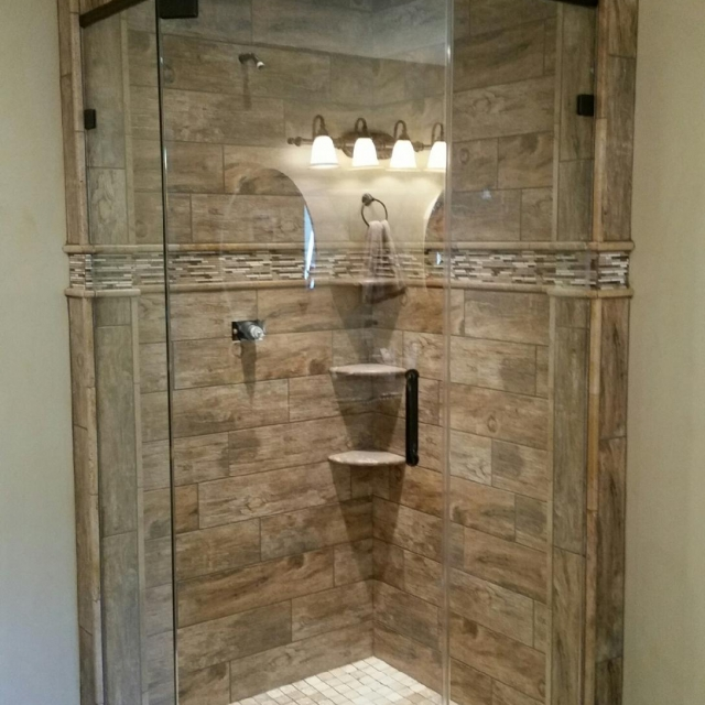 frameless glass shower in metro atlanta
