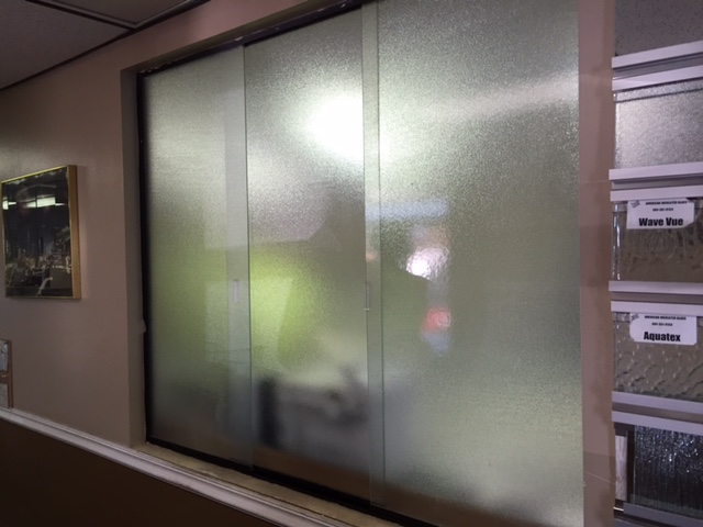 Commercial Glass Slider Installation in Metro Atlanta area