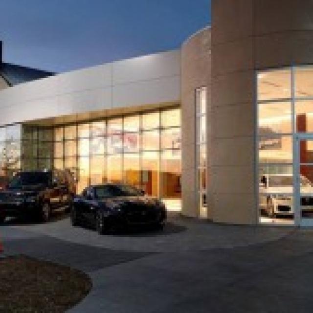 Hennessy Jaguar - Land Rover North Point Storefront in Alpharetta, GA