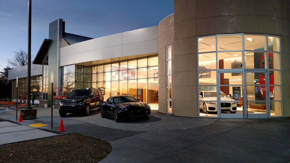 Hennessy Jaguar - Land Rover North Point Storefront in Alpharetta, GA