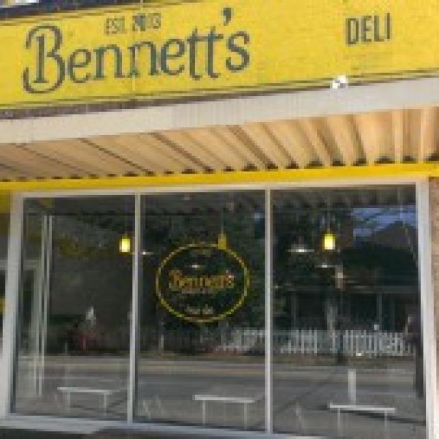 Bennett's Market and Deli Storefront - Grant Park Neighborhood in Atlanta, GA