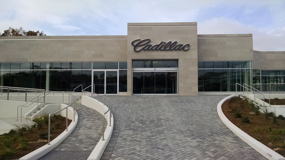 Capital Cadillac Dealership Storefront on Cobb Parkway in Smyrna, GA