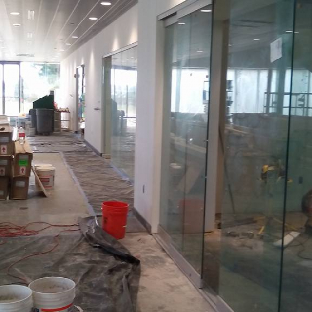 Commercial Interior Sliding Glass Doors frameless glass doors replacement, installation & repair atlanta